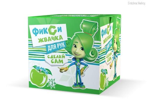 Набор для опытов ИННОВАЦИИ ДЛЯ ДЕТЕЙ 884 Фикси- жвачка для рук, яблоко - Инновации Для Детей