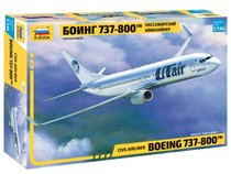 Сборная модель ZVEZDA 7019 Боинг 737-800 - Zvezda
