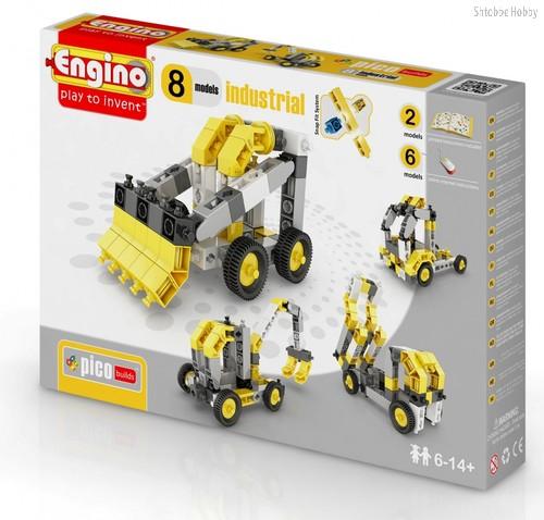 """Конструктор """"PICO BUILDS/INVENTOR. Спецтехника"""", 8 моделей - Engino"""