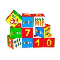 Кубики МЯКИШИ 177 Умная математика - Мякиши