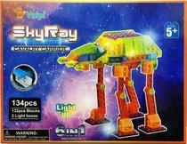 Светодиодный конструктор Космические аппараты 6 в 1 - Sky Ray