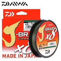 Леска плетеная Daiwa J-Braid Grand X8 150м 0.24мм светло-серый - Daiwa