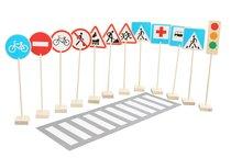 Набор Н-21 Знаки дорожного движения - Краснокамская Игрушка