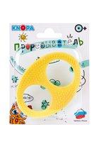Прорезыватель KNOPA 80083 Бесконечность, желтая
