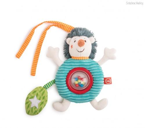 Погремушка HAPPY BABY 330660 подвесная ёжик Федя - Happy Baby