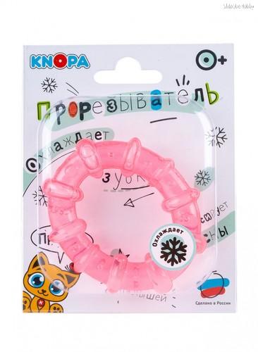 Прорезыватель KNOPA 80037 Колечко, розовое - Knopa