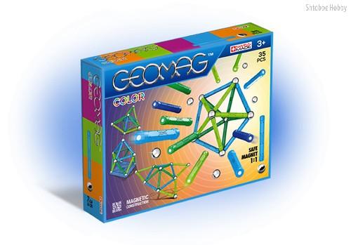 Магнитный конструктор GEOMAG 261 Color 35 деталей - Geomag