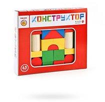 Конструктор ТОМИК 6678-43 Цветной 46 дет. - Томик