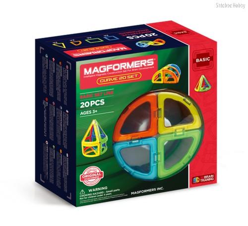 Магнитный конструктор Magformers Curve 20 Set - Magformers
