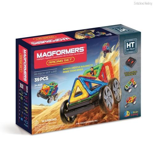 Магнитный конструктор Magformers Racing Set - Magformers