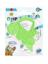 Прорезыватель KNOPA 80065 Паровозик, зеленый - Knopa