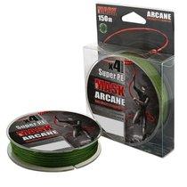 Леска плетеная Akkoi Mask Arcane X4 0,08мм 150м Green MA4G/150-0,08 - Akkoi