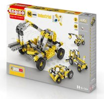 """Конструктор """"PICO BUILDS/INVENTOR. Спецтехника"""", 16 моделей - Engino"""