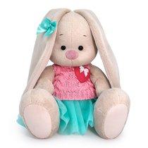 Мягкая игрушка BUDI BASA SidS-362 Зайка Ми в юбке и вязаном жилете 18см - Буди Баса