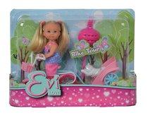 Кукла EVI 5730783029 на велосипеде с собачкой - Evi Love
