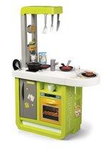 Игровой набор SMOBY 310909 кухня Cherry зелёная, 25 пр. - Smoby
