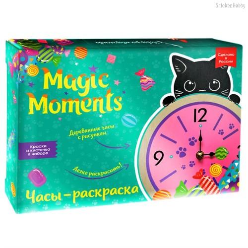 Набор для творчества MAGIC MOMENTS CL-4 часы котик - Magic Moments