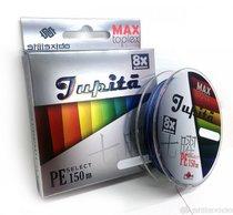Шнур плетеный Shii Saido Jupita 8X, 150 м, 0,185 мм, до 8,15 кг, multicolor SBLJ150-8X-18 - Shii Saido