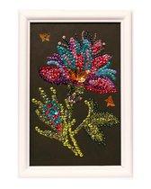 Мозаика из пайеток ВОЛШЕБНАЯ МАСТЕРСКАЯ М028 Волшебный цветок - Волшебная Мастерская