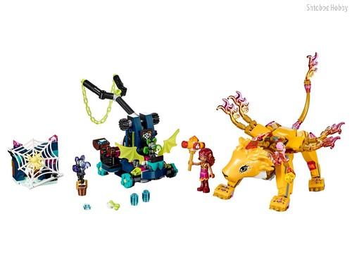 Конструктор Elves Ловушка для Азари и огненного льва - Lego