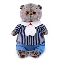 Мягкая игрушка BUDI BASA Ks22-118 Басик в морском костюме 22см - Буди Баса