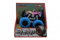 Машина пластиковая FUNKY TOYS FT61040 гоночная die-cast, 4*4, синие колеса