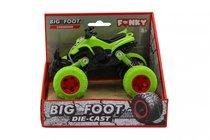 Машина пластиковая FUNKY TOYS FT61071 Квадроцикл die-cast, инерционный, зеленый, 1:46 - Funky Toys