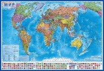 Карта Мир Политический 1:28 - Globen