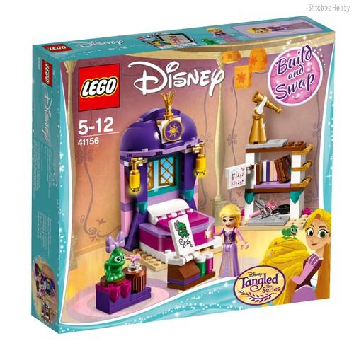 Конструктор Disney Princess Спальня Рапунцель в замке - Lego