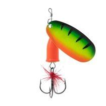 Блесна Premier Fishing Gidra №3, 33*17мм, 9г. Tiger с мухой PR-SPRH12T-3, 9 г - Тонар