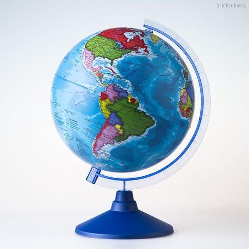 Глобус GLOBEN Ве012100248 Политический (батарейки) 210 - Globen