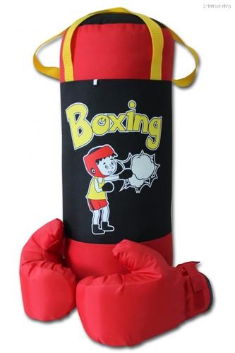 Набор Груша и перчатки BOXING 3, оксфорд - Belon