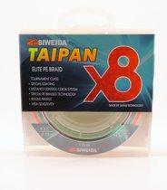 Леска плетеная Siweida Taipan Elite PE Braid X8 135м 0,28мм (18,18кг) мультиколор - Siweida