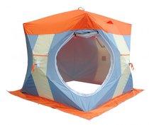 Палатка рыбака Нельма Куб-2 Люкс (двухслойная) - Митек