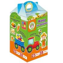 Набор VLADI TOYS VT1312-01 Живу на ферме - Vladi Toys