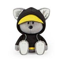 Мягкая игрушка BUDI BASA LE15-022 Волчонок Вока в черной толстовке с капюшоном 15 - Буди Баса