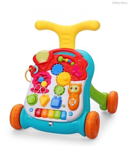 Каталка HAPPY BABY 331241 c развивающим центром SPRINTER - Happy Baby