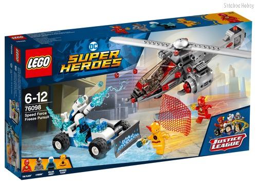 Конструктор LEGO 76098 Super Heroes Скоростная погоня - Lego