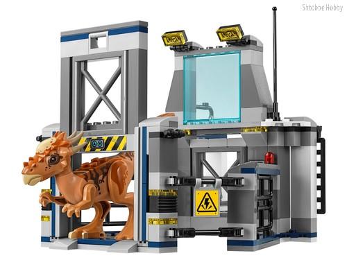 Конструктор Jurassic World Побег стигимолоха из лаборатории - Lego
