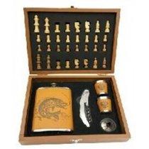 Подарочный набор с шахматами в чемодане Helios GT-TZ209 - Тонар