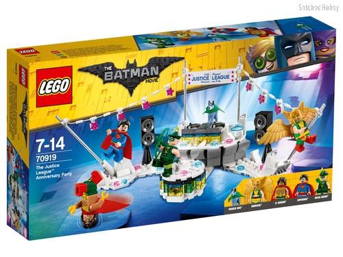 Конструктор LEGO 70919 Batman Movie Вечеринка Лиги Справедливости - Lego