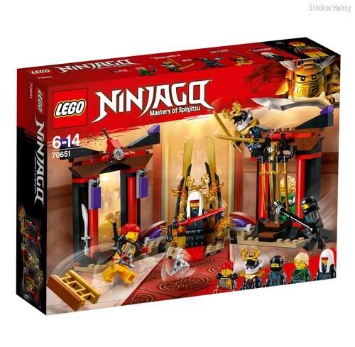 Конструктор Ninjago Решающий бой в тронном зале - Lego