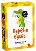 Настольная игра BRAINY GAMES УМ521 Первые буквы - Brainy Games