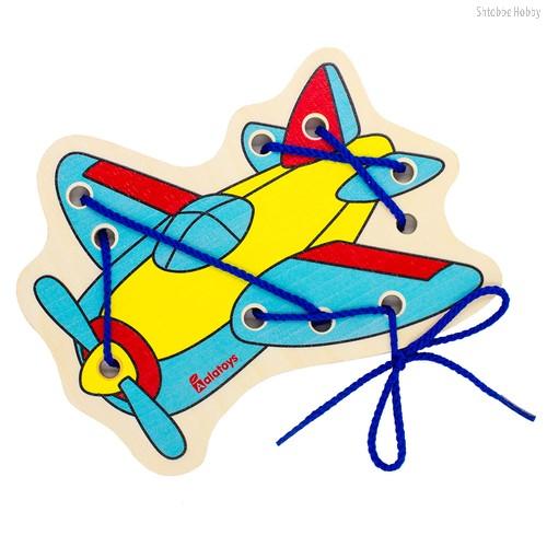 Шнуровка ALATOYS ШН30 самолётик - Alatoys