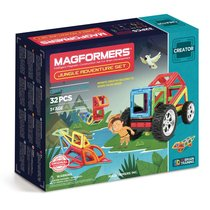 Магнитный конструктор Magformers Jungle Adventure Set - Magformers