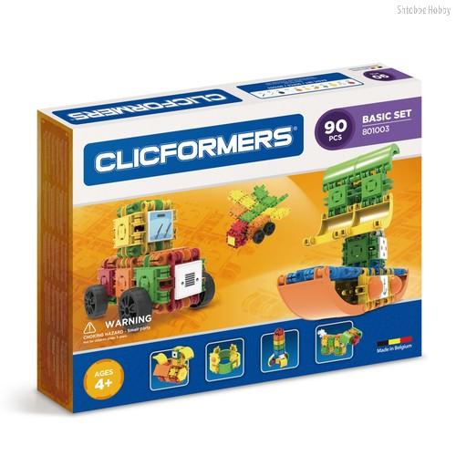 Конструктор Basic Set 90 деталей - Clicformers