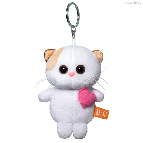 Брелок BUDI BASA АВВ-014 Кошечка Ли Ли с розовым сердцем 12 см - Буди Баса