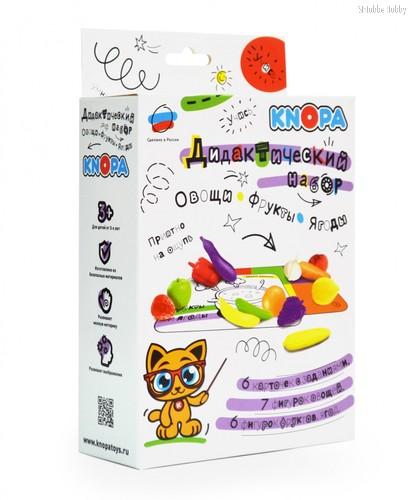 Обучающий набор KNOPA 87041 Овощи и фрукты - Knopa