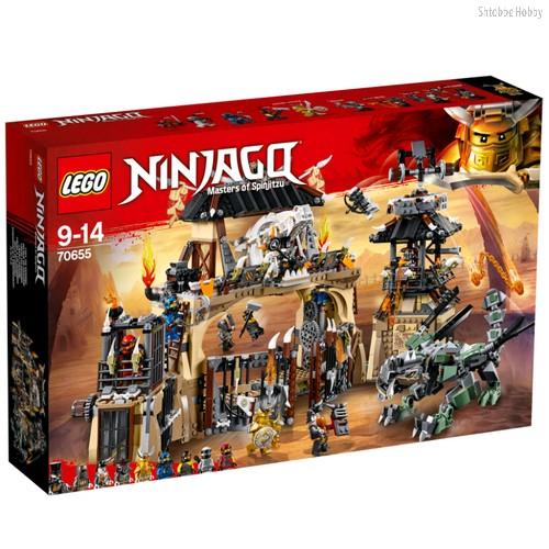Конструктор Ninjago Пещера драконов - Lego