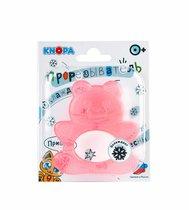 Прорезыватель KNOPA 80028 Мишка, красный - Knopa